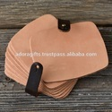 Leather Table Coasters