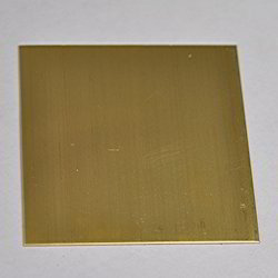 Leaded Brass Sheet