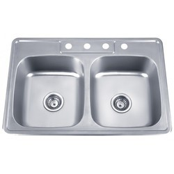 Stainless Steel Double Bowl Kitchen Sinks Kitchen sinks double bowl kitchen sink manufacturer from muzaffarnagar stainless steel double bowl kitchen sink get best quote workwithnaturefo