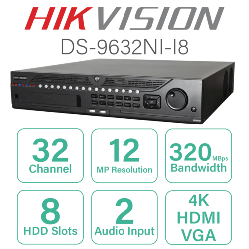 Channel DVR - Hikvision Channel DVR Retailer from Nashik
