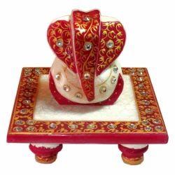 Marble Ganesha Chowki