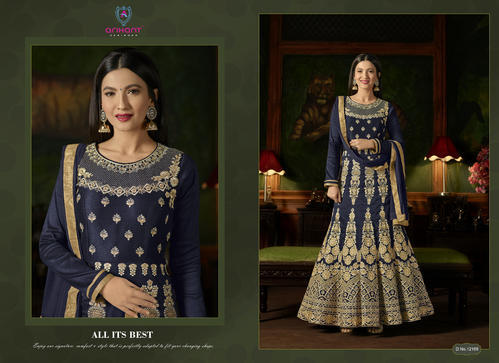 44ac0fb360 Anarkali Suit - Fancy Anarkali Suits Authorized Wholesale Dealer ...