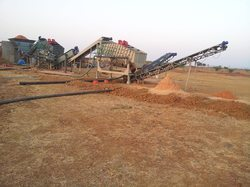 Silica Sand Processing Plant