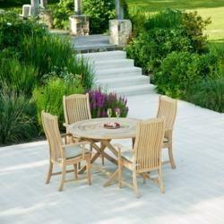 Cane Garden Table
