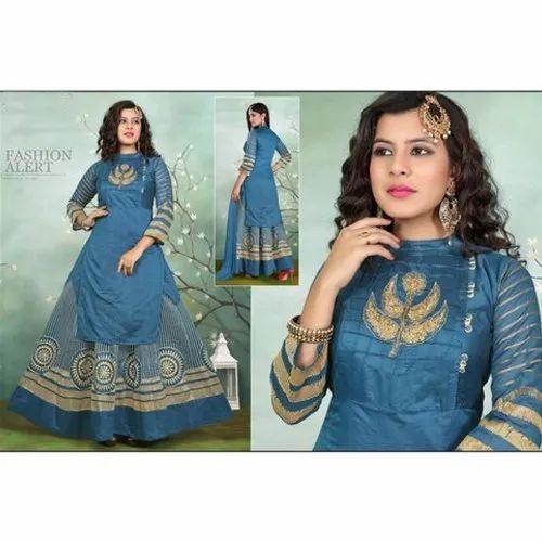 cd22f160cd Ladies Suit - Ladies Designer Lehenga Suit Manufacturer from Ahmedabad