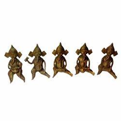 Baster Ganesha Musician Set