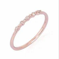 Pave Diamond Wedding Band Ring