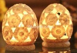 Soapstone Tea Light Candle Holders