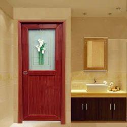 Pvc doors decorative pvc door manufacturer from chennai for Pvc bathroom door designs