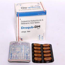 Drotaverine 80 mg Mefanamic Acid 25 mg Tablets