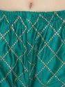 Silk Cotton Chikan Embroidery Palazzo
