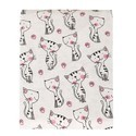 Kitty Printed Baby Swaddle
