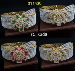 American Diamond Fashion Kada