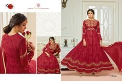 Embroidered Round Neck Shiyaa Salwar Suit