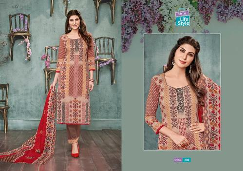 94f5ff59c3 MCM LIFESTYLE AMEERA VOL 3 KARACHI COTTON PRINTED JETPUR UNSTITCHED DRESS  MATERIALS