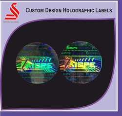Customized Holographic Labels