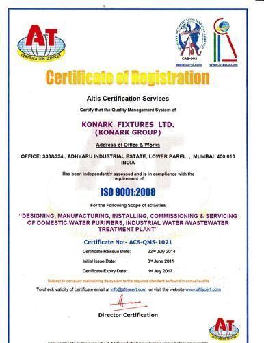 Konark Fixtures Ltd - Manufacturer from Lower Parel, India   About Us