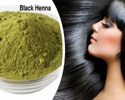 Natural Black Henna Hair Dye Powder- Herbal Henna Hair Dye