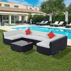 Outdoor Poolside Sofa
