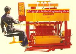 16 Block Semi Auto Hydraulic Concrete Block