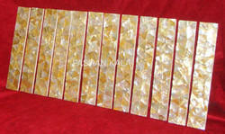 Golden Mother of Pearl Strip