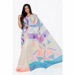 Ladies Handloom Tussar Saree