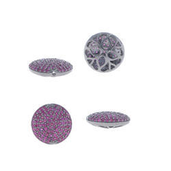 Gemstone Silver Bead Findings
