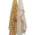 Stripe Tie Dye Multicolor Blanket Cotton Throws
