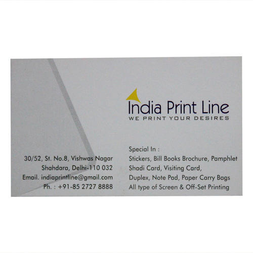 Business Card Stickers India