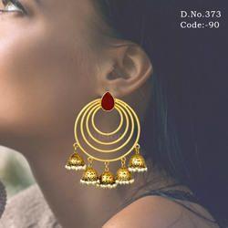Antique Chandbali Earring