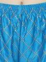 Cotton Silk Chikan Embroidery Palazzo Pants
