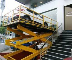 Hydraulic Scissor Lift For Car Lifting