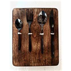 Black Titanium Jupiter Cutlery