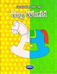 Colour Me as Toy World Book