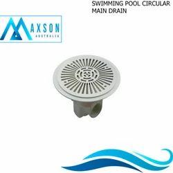 Swimming Pool Circular Main Drain