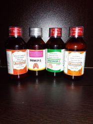 Levosalbutamol Ambroxol Guaiphenesin Cough Syrup