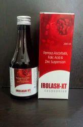 Ferrous Ascorbate Folic Acid and Zinc Suspension