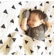 Fair Trade Organic Cotton Made Baby Muslin Swaddles