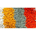 Colored Plastic Granules