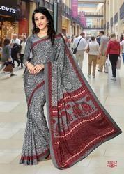 Designer Uniform Saree