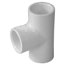 PVC Tee 75mm SWR (Ring Type)