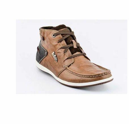 c36b27e95b2 Men Boots - Lee Cooper 13-2016-Tan Casual Boots Retailer from Mumbai