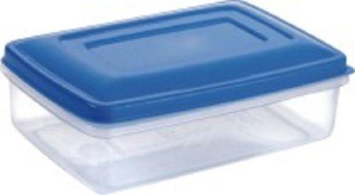 Rectangular Plastic Storage Container Crystal 7000