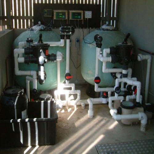 Reverse osmosis system and water treatment plant - Swimming pool water treatment plant ...