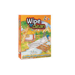 Wipe and Clean Board Games