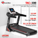 Powermax Tac-330 Ac Motorized Treadmill With Semi-Auto Lubricating