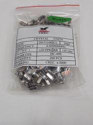 CREC Crystal Oscillators 4MHz (HC49S)