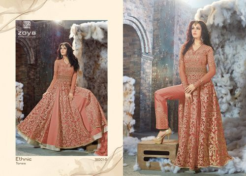 Ladies Heavy Embroidery designer suit