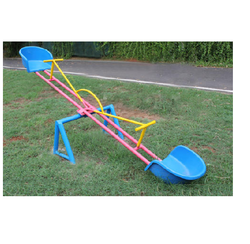 Kids Seesaw Kiddies 2 Seater Frp Seat See Saw Manufacturer From Chennai