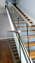 Stainless Steel Glass Hand Railing